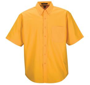 ATHLETIC GOLD COAL HARBOUR® EASY CARE SHORT SLEEVE WOVEN SHIRT. D510