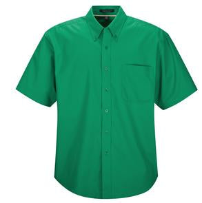 COURT GREEN COAL HARBOUR® EASY CARE SHORT SLEEVE WOVEN SHIRT. D510
