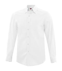 WHITE COAL HARBOUR® EVERYDAY LONG SLEEVE WOVEN SHIRT. D6013