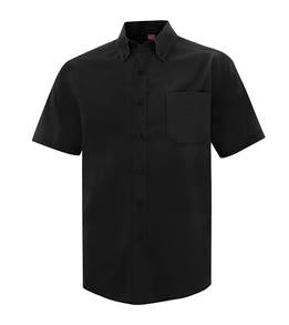 BLACK COAL HARBOUR® EVERYDAY SHORT SLEEVE WOVEN SHIRT. D6021