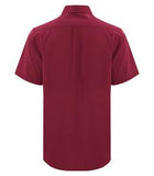 RICH RED HARBOUR® EVERYDAY SHORT SLEEVE WOVEN SHIRT. D6021
