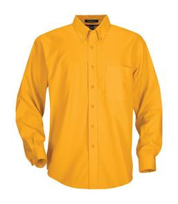 ATHLETIC GOLD COAL HARBOUR® EASY CARE LONG SLEEVE WOVEN SHIRT. D610