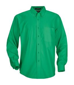 COURT GREEN COAL HARBOUR® EASY CARE LONG SLEEVE WOVEN SHIRT. D610