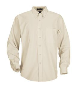 LIGHT STONE COAL HARBOUR® EASY CARE LONG SLEEVE WOVEN SHIRT. D610
