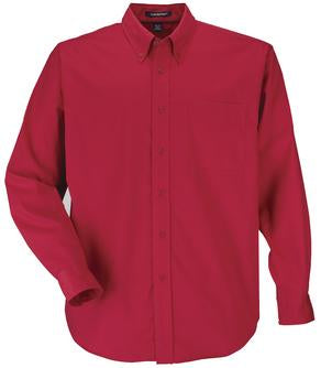 RED COAL HARBOUR® EASY CARE LONG SLEEVE WOVEN SHIRT. D610