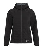 ASPHALT / BLACK DRYFRAME® DRY TECH REVERSIBLE LINER LADIES' JACKET. DF7651L