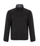 ASPHALT / BLACK DRYFRAME® DRY TECH REVERSIBLE LINER JACKET. DF7651