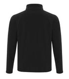 BLACK / CHARCOAL ATC LIFESTYLE FLEECE FULL ZIP SWEATSHIRT. F2021