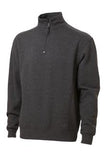 CHARCOAL GREY ATC PRO FLEECE 1/4 ZIP SWEATSHIRT. F202