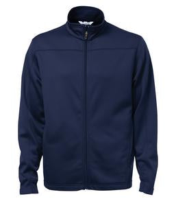TRUE NAVY ATC PTECH® FLEECE TRACK JACKET. F222