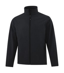 BLACK HEATHER COAL HARBOUR® EVERYDAY SOFT SHELL JACKET. J7603