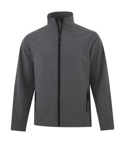PEARL GREY HEATHER COAL HARBOUR® EVERYDAY SOFT SHELL JACKET. J7603