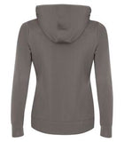 COAL GREY ATC GAME DAY FLEECE HOODED LADIES' SWEATSHIRT. L2005