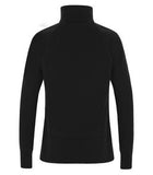 BLACK / TRUE ROYAL ATC LIFESTYLE FLEECE 1/2 ZIP LADIES' SWEATSHIRT. L2015