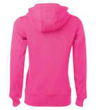 RASPBERRY ATC PRO FLEECE FULL ZIP HOODED LADIES' SWEATSHIRT. L201