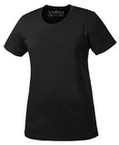 BLACK ATC PRO TEAM SHORT SLEEVE LADIES' TEE. L350