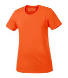 EXTREME ORANGE ATC PRO TEAM SHORT SLEEVE LADIES' TEE. L350