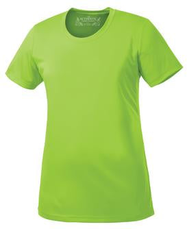 LIME SHOCK ATC PRO TEAM SHORT SLEEVE LADIES' TEE. L350