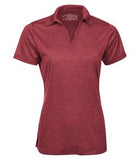 CARDINAL HEATHER ATC PRO TEAM HEATHER ProFORMANCE LADIES' SPORT SHIRT. L3518