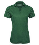 FOREST GREEN HEATHER ATC PRO TEAM HEATHER ProFORMANCE LADIES' SPORT SHIRT. L3518