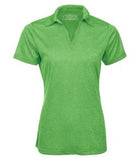 TURF GREEN HEATHER ATC PRO TEAM HEATHER ProFORMANCE LADIES' SPORT SHIRT. L3518