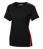 BLACK / TRUE RED ATC PRO TEAM HOME & AWAY LADIES' JERSEY. L3519
