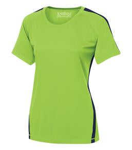 LIME SHOCK / TRUE NAVY ATC PRO TEAM HOME & AWAY LADIES' JERSEY. L3519