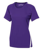 PURPLE / WHITE ATC PRO TEAM HOME & AWAY LADIES' JERSEY. L3519