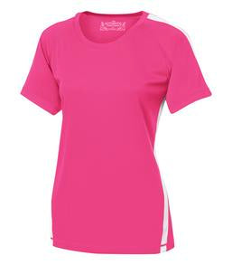 WILD RASPBERRY / WHITE ATC PRO TEAM HOME & AWAY LADIES' JERSEY. L3519