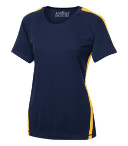 TRUE NAVY / GOLD ATC PRO TEAM HOME & AWAY LADIES' JERSEY. L3519