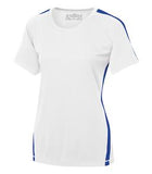 WHITE / TRUE ROYAL ATC PRO TEAM HOME & AWAY LADIES' JERSEY. L3519