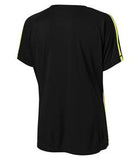 BLACK / EXTREME YELLOW ATC PRO TEAM HOME & AWAY LADIES' JERSEY. L3519