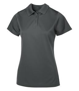 CHARCOAL COAL HARBOUR® SNAG PROOF POWER LADIES' SPORT SHIRT. L4005
