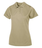 TAN COAL HARBOUR® SNAG PROOF POWER LADIES' SPORT SHIRT. L4005