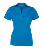 BRILLIANT BLUE COAL HARBOUR® EVERYDAY LADIES' SPORT SHIRT. L4007