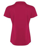 DARK FUSCHIA COAL HARBOUR® CITY TECH SNAG RESISTANT LADIES' SPORT SHIRT. L4015