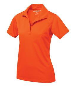 ORANGE COAL HARBOUR® SNAG RESISTANT LADIES' SPORT SHIRT. L445