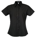 BLACK COAL HARBOUR® EASY CARE SHORT SLEEVE WOVEN LADIES' SHIRT. L510