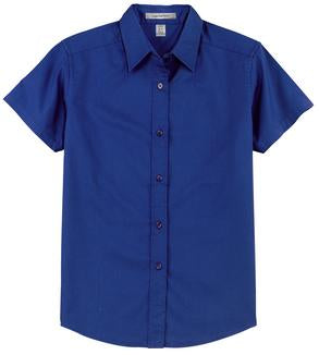ROYAL COAL HARBOUR® EASY CARE SHORT SLEEVE WOVEN LADIES' SHIRT. L510