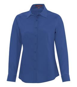 TRUE ROYAL COAL HARBOUR® EVERYDAY LONG SLEEVE LADIES' WOVEN SHIRT. L6013