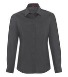 IRON GREY COAL HARBOUR® EVERYDAY LONG SLEEVE LADIES' WOVEN SHIRT. L6013