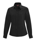 BLACK COAL HARBOUR® NON-IRON TWILL LADIES' SHIRT. L6017