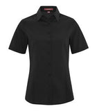 BLACK COAL HARBOUR® EVERYDAY SHORT SLEEVE LADIES' WOVEN SHIRT. L6021