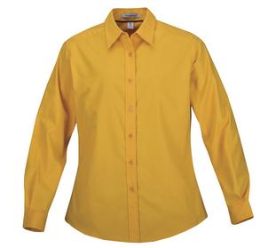 ATHLETIC GOLD COAL HARBOUR® EASY CARE LONG SLEEVE WOVEN LADIES' SHIRT. L610