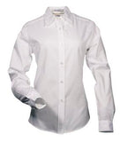 WHITE COAL HARBOUR® EASY CARE LONG SLEEVE WOVEN LADIES' SHIRT. L610