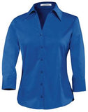 ROYAL COAL HARBOUR® EASY CARE 3/4 SLEEVE WOVEN LADIES' SHIRT. L615