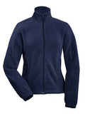 NAVY COAL HARBOUR® POLAR FLEECE LADIES' JACKET. L750
