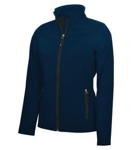 MIDNIGHT BLUE COAL HARBOUR® EVERYDAY SOFT SHELL LADIES' JACKET. L7603