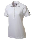 BRIGHT WHITE OGIO® JEWEL LADIES' POLO. LOG101