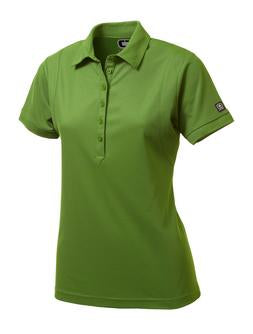 GRIDIRON GREEN OGIO® JEWEL LADIES' POLO. LOG101